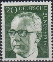 Germany, Federal Republic 1970 President Gustav Heinemann (2nd Group) b.jpg