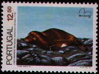 Portugal 1983 Brasiliana 83 - International Stamp Exhibition - Marine Mammals