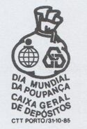 Portugal 1985 World Savings Day PMa
