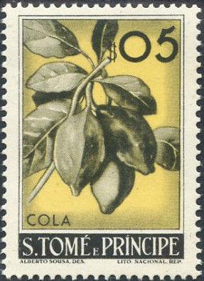 St Thomas and Prince 1948 Fruits