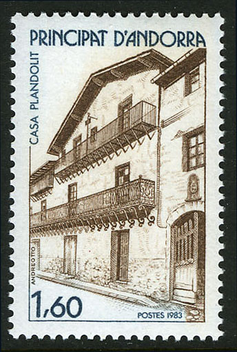 Andorra-French 1983 Plandolit House in Ordino