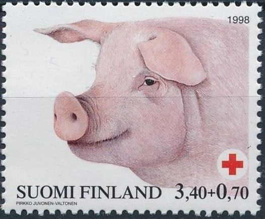 Finland 1998 Red Cross Fund - Pigs c.jpg