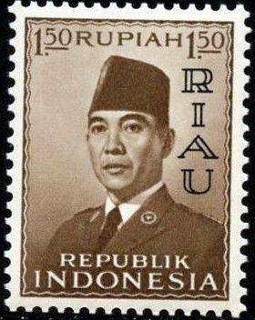 Indonesia-Riau 1960 President Sukarno - Definitives b.jpg