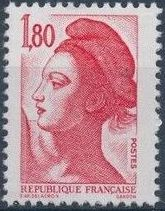 France 1982 Liberty after Delacroix (2nd Issue) b.jpg