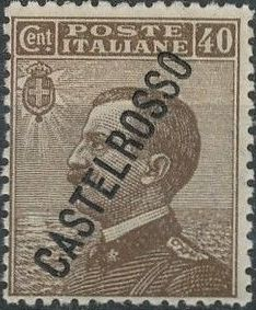 "Italy (Aegean Islands)-Castelrosso 1924 Definitives of Italy - Overprinted ""CASTELROSSO"" f.jpg"