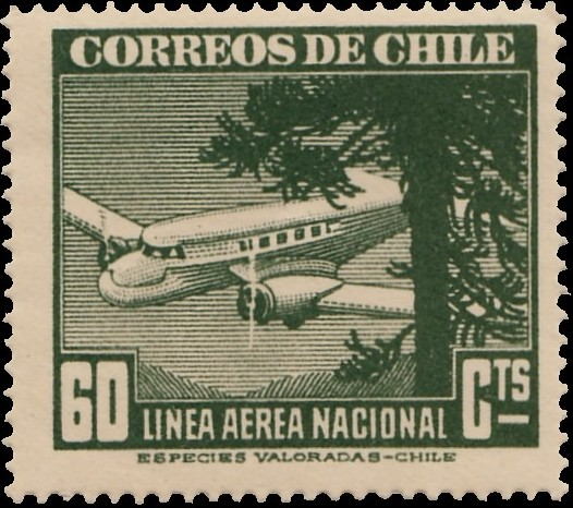 Chile 1941 Air Post Stamps (Type 1941) e.jpg