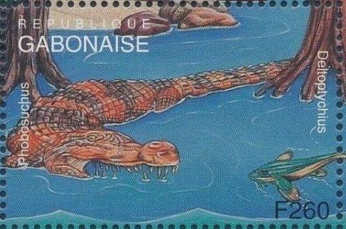Gabon 1995 Prehistoric Wildlife zf.jpg