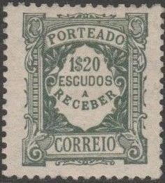 Portugal 1922 Postage Due Stamps (Unicolor) p.jpg