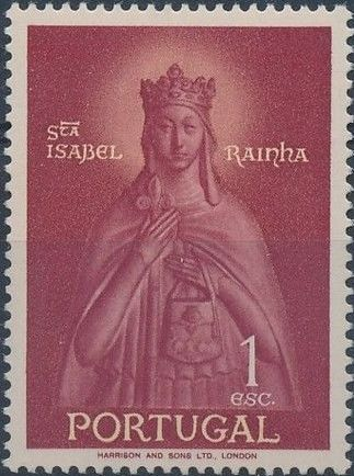 Portugal 1958 Queen St. Isabella and St. Theotonius
