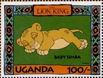 Uganda 1994 The Lion King