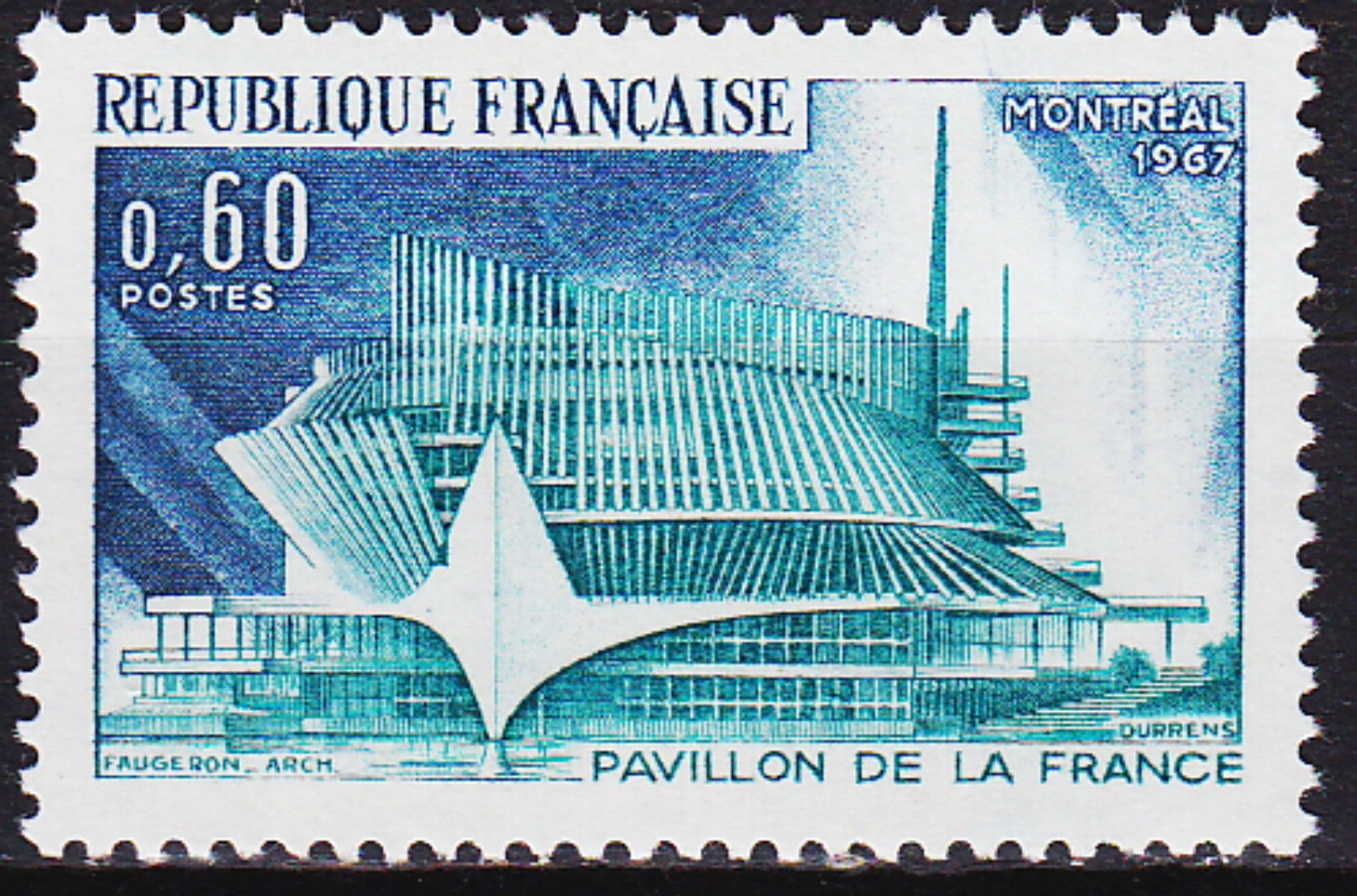 France 1967 International Exhibition of Montreal