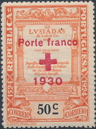 Portugal 1930 Red Cross - 400th Birth Anniversary of Camões b.jpg