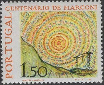 Portugal 1974 Centenary of Birth of Guglielmo Marconi