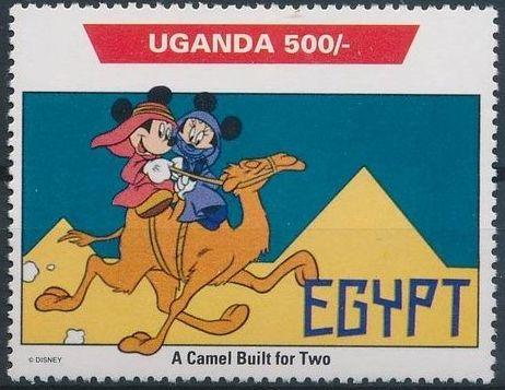 Uganda 1992 Walt Disney Characters on World Tour e.jpg