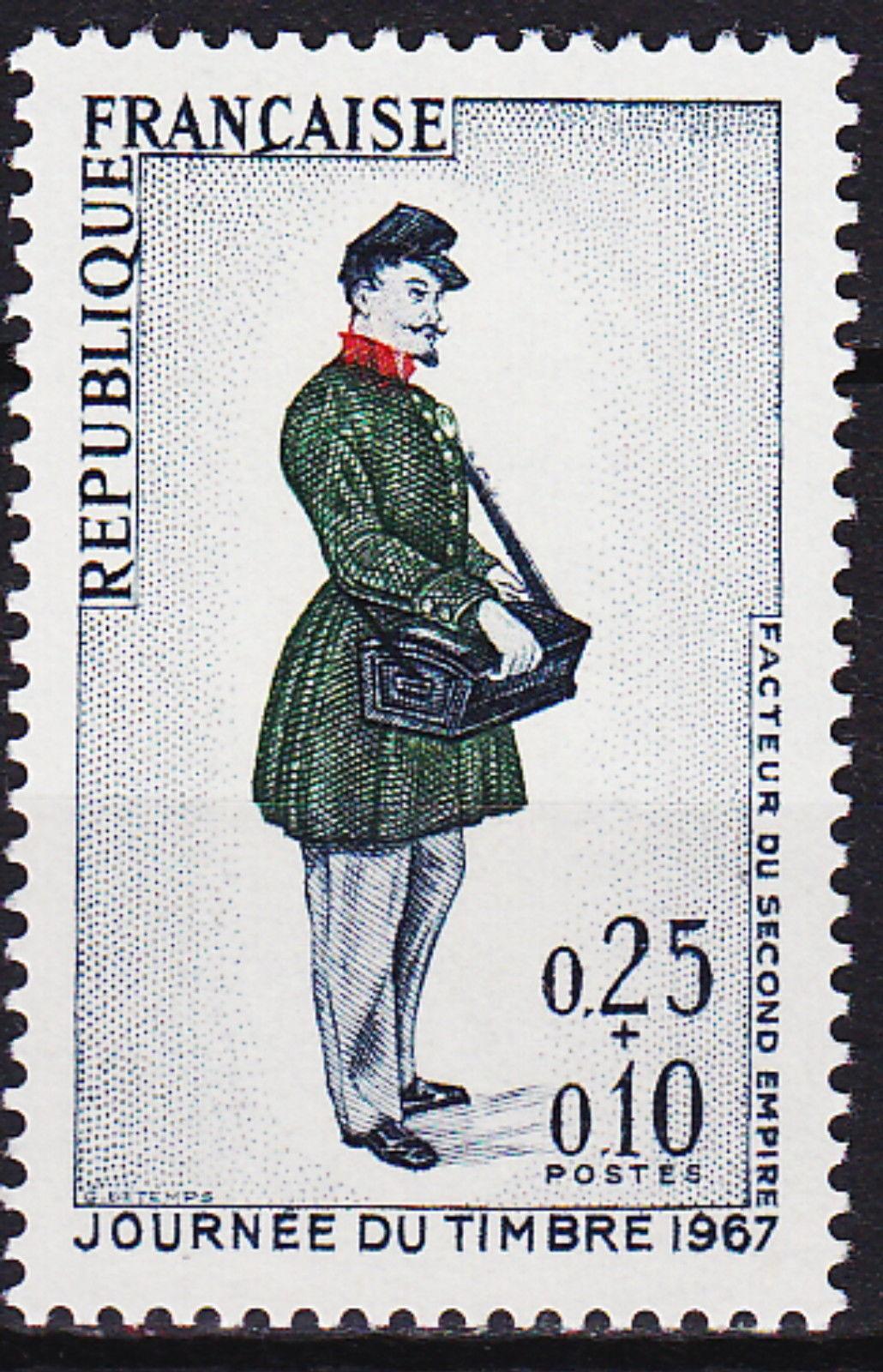 France 1967 Stamp Day