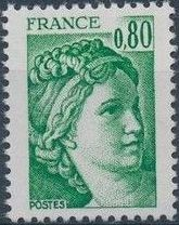 France 1977 Sabine after Jacques-Louis David (1748-1825) (1st Issue)
