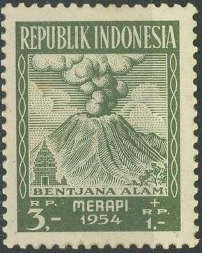 Indonesia 1954 Surtax for Victims of the Merapi Volcano Eruption g.jpg