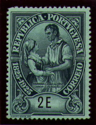 Portugal 1925 Birth Centenary of Camilo Castelo Branco y.jpg