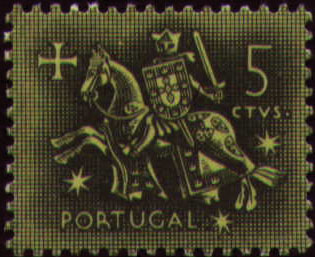 Portugal 1953 Definitives - Medieval Knight