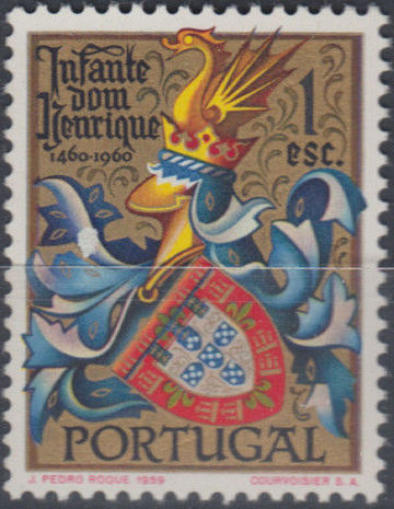 Portugal 1960 500th Anniversary of the Death of Prince Henrique the Sailor