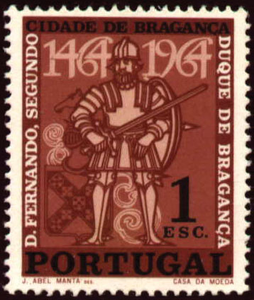 Portugal 1965 500 Years of Bragança City