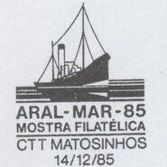 Portugal 1985 ARAL-MAR-85 Philatelic Exhibition PMa