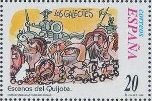 "Spain 1998 Scenes from ""Don Quixote"" k.jpg"