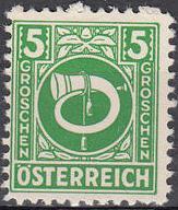 Austria 1945 Posthorn d.jpg