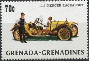 Grenada Grenadines 1983 The 75th Anniversary of Ford T e.jpg