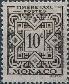 Monaco 1946 Postage Due Stamps