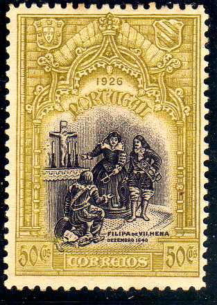 Portugal 1926 1st Independence Issue k.jpg