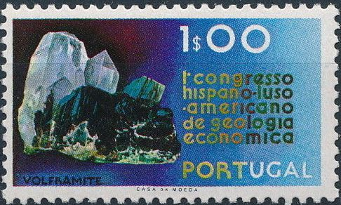 Portugal 1971 1st Spanish-Portuguese-American Economic Geology Congress