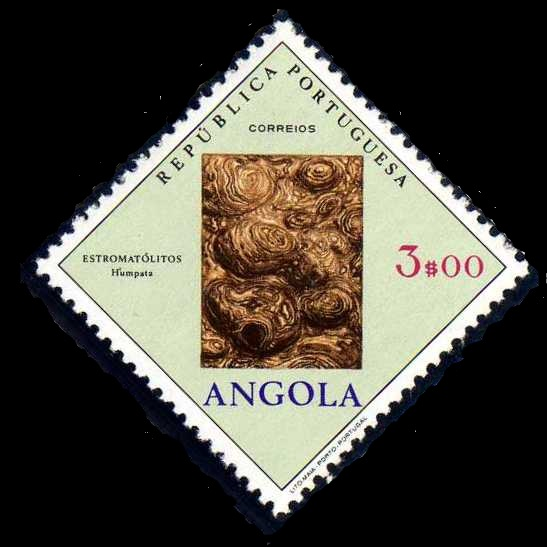 Angola 1970 Fossils and Minerals from Angola f.jpg