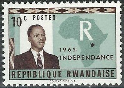 Rwanda 1962 Independence