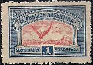 Argentina 1928 Air Post Stamps o.jpg