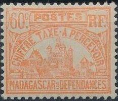 Madagascar 1924 Govenor's Palace