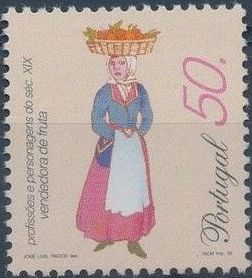 Portugal 1995 Professions and Characters from XIX Century (1st Group) d.jpg
