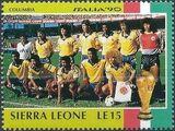 Sierra Leone 1990 Football World Cup in Italy