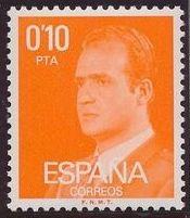 Spain 1977 King Juan Carlos I - 2nd Group