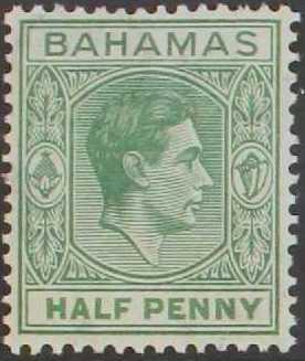 Bahamas 1938 George VI