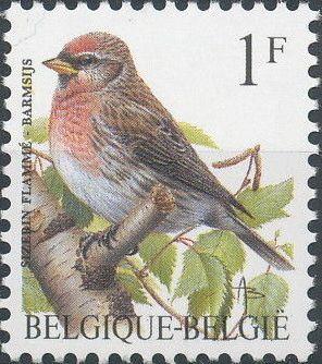Belgium 1992 Birds (B)