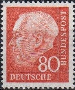 Germany, Federal Republic 1957 Pres. Theodor Heuss f.jpg