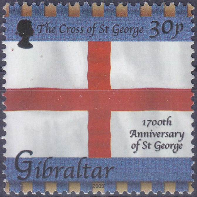 Gibraltar 2003 1700th Anniversary of St. George