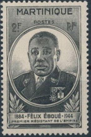 Martinique 1945 Felix Eboue
