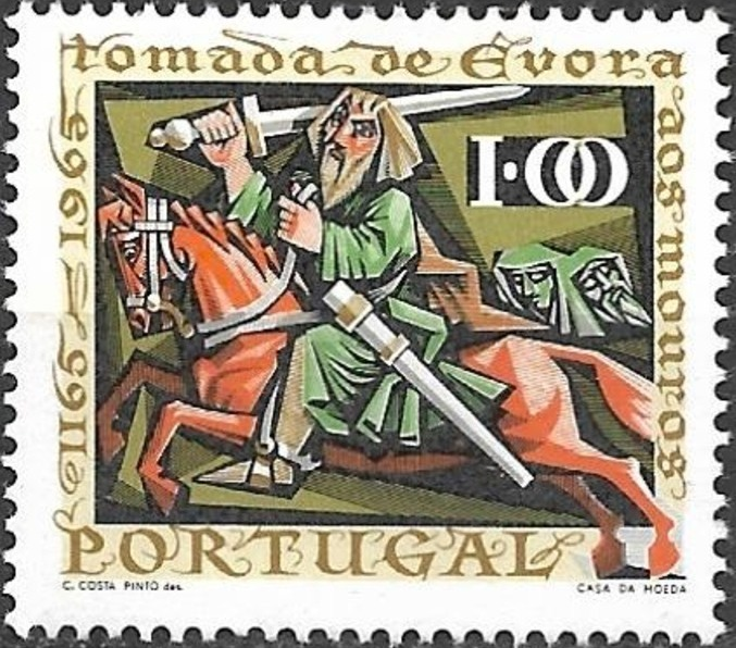 Portugal 1966 800th Anniversary of the Conquest of Evora from the Moors