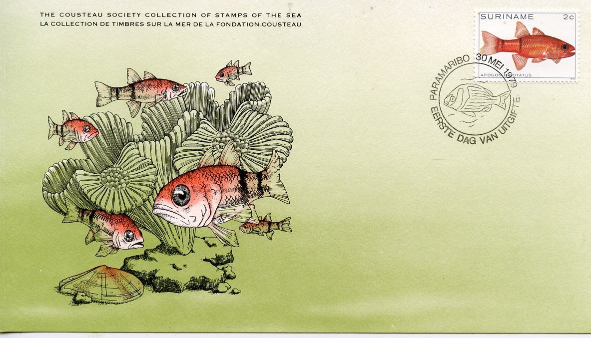 Surinam 1979 Tropical Fishes