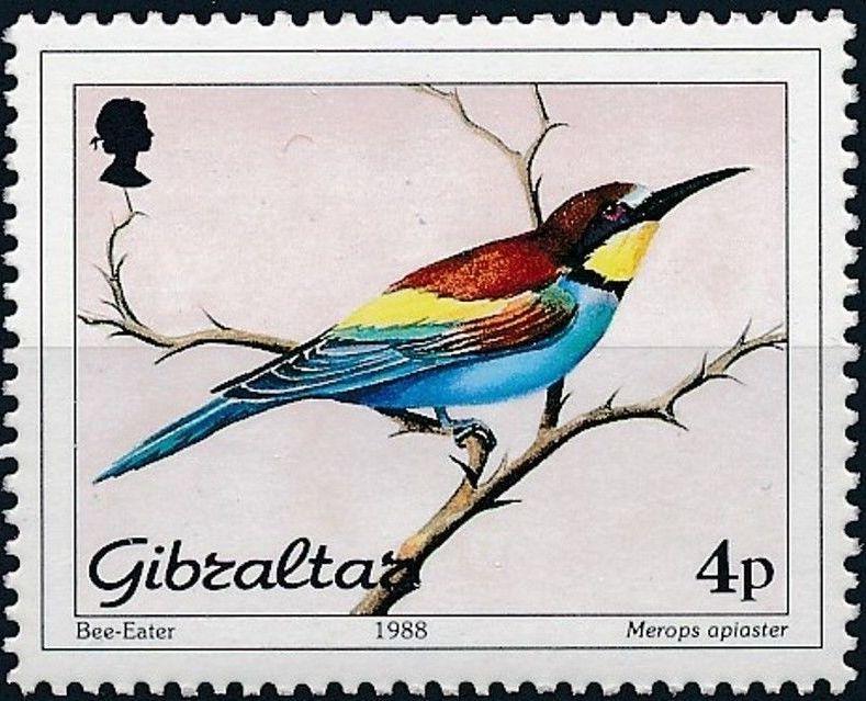 Gibraltar 1988 Birds