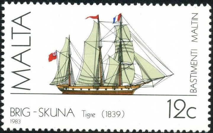 Malta 1983 Maltese Ships (2nd Series) b.jpg