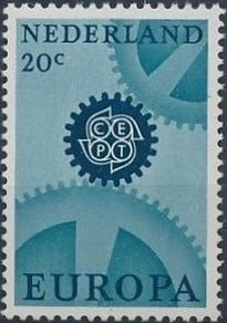 Netherlands 1967 Europa - CEPT