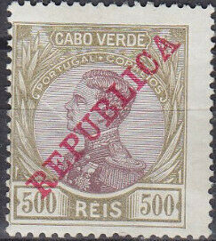 Cape Verde 1912 D. Manuel II Overprinted REPUBLICA l.jpg